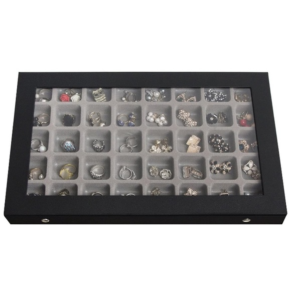 40 compartment jewelry container